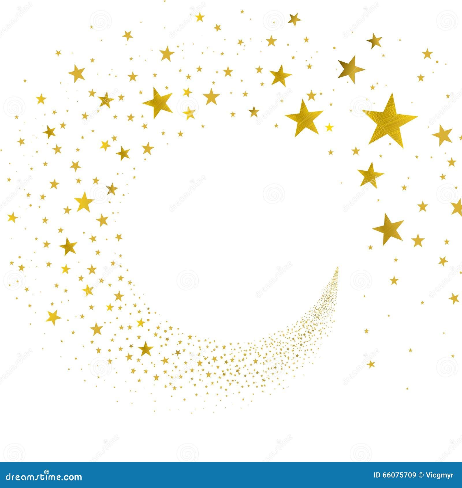 Estrellas del oro de la corriente