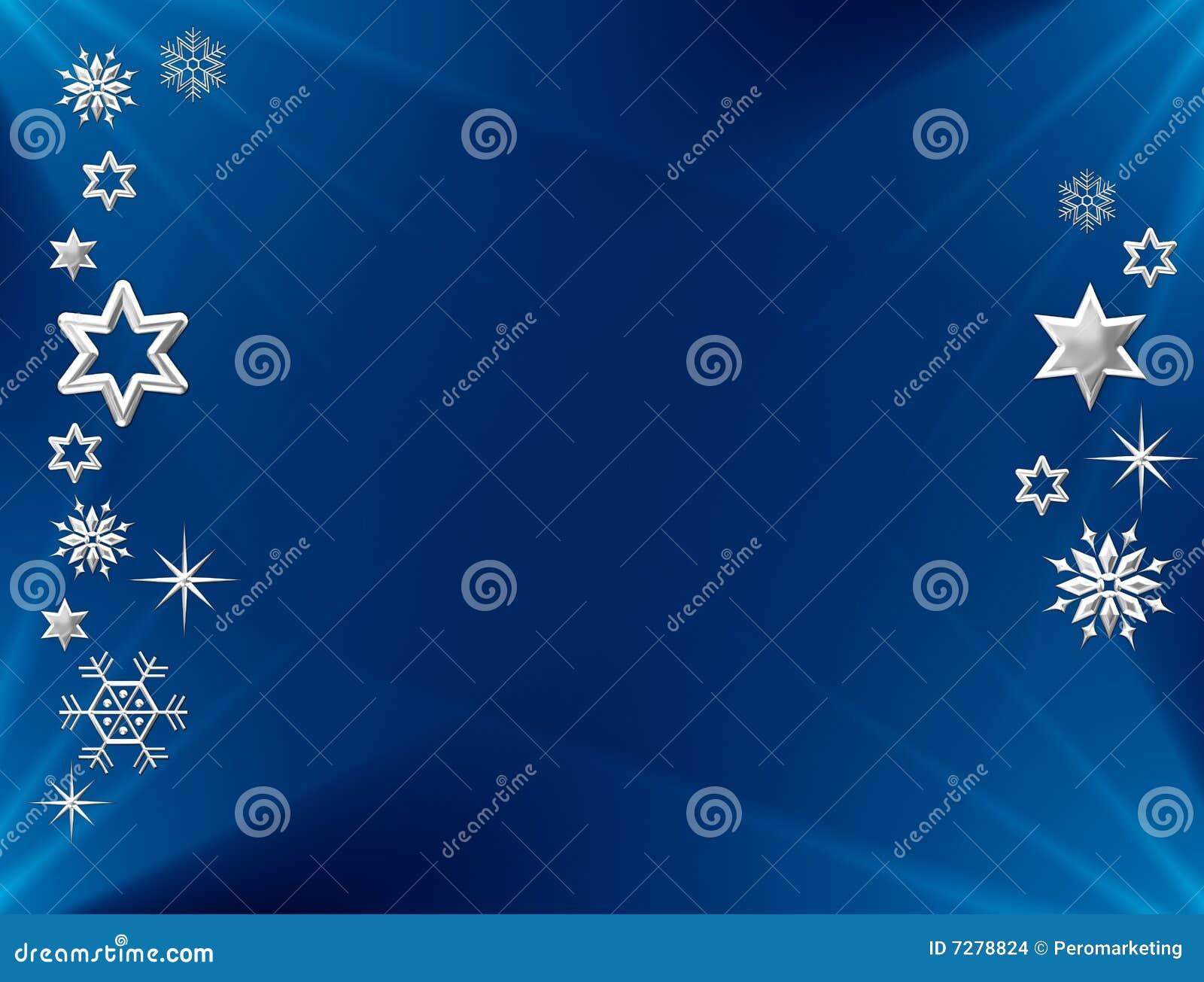 Estrellas y copos de nieve