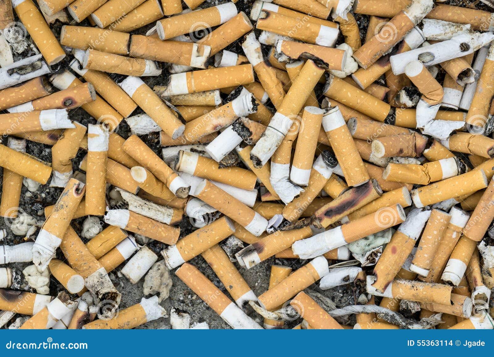 Estremità di sigaretta