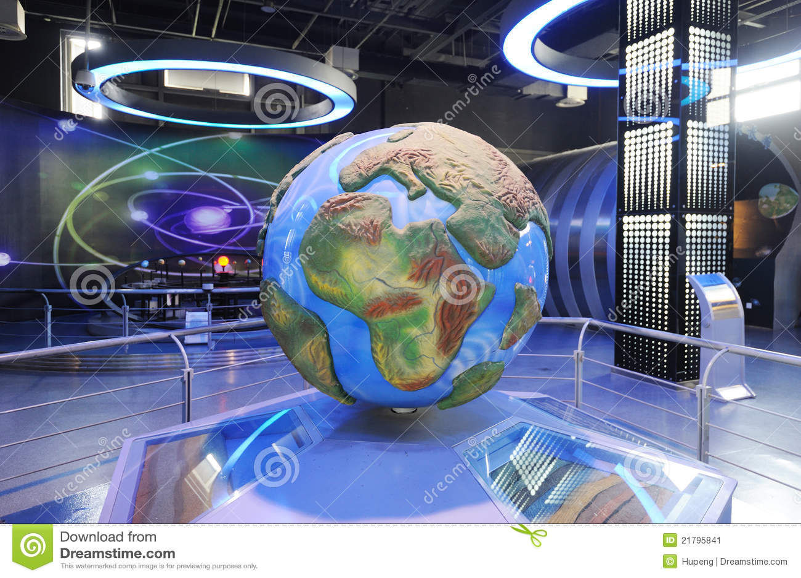 Estructura de la tierra y desviación continental