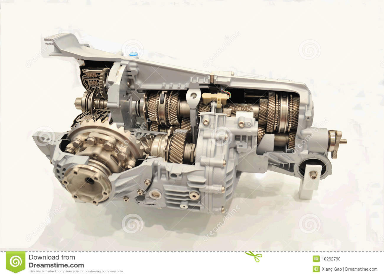 Estructura Interna Del Motor Foto de archivo - Imagen de engranaje ...