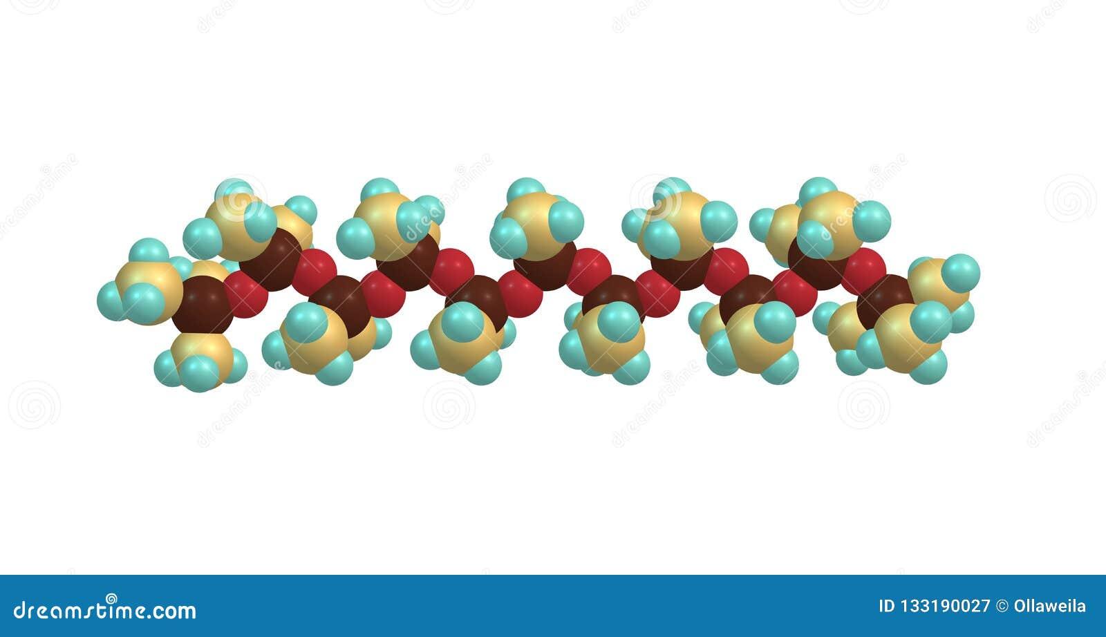 Estructura Molecular De Tetramethydisiloxane Aislada En