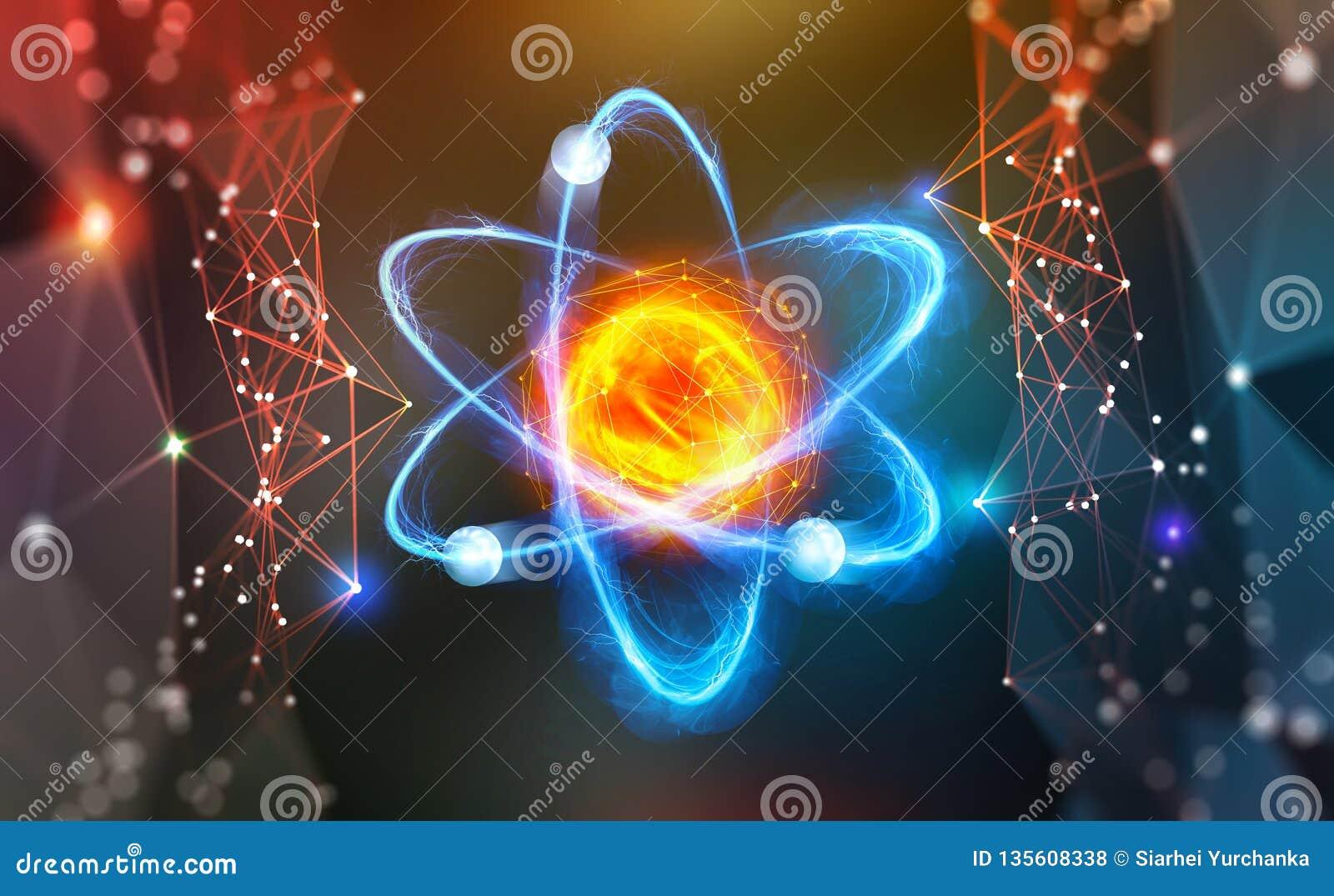 Estrutura Atômica Descoberta Científica Pesquisa Científica