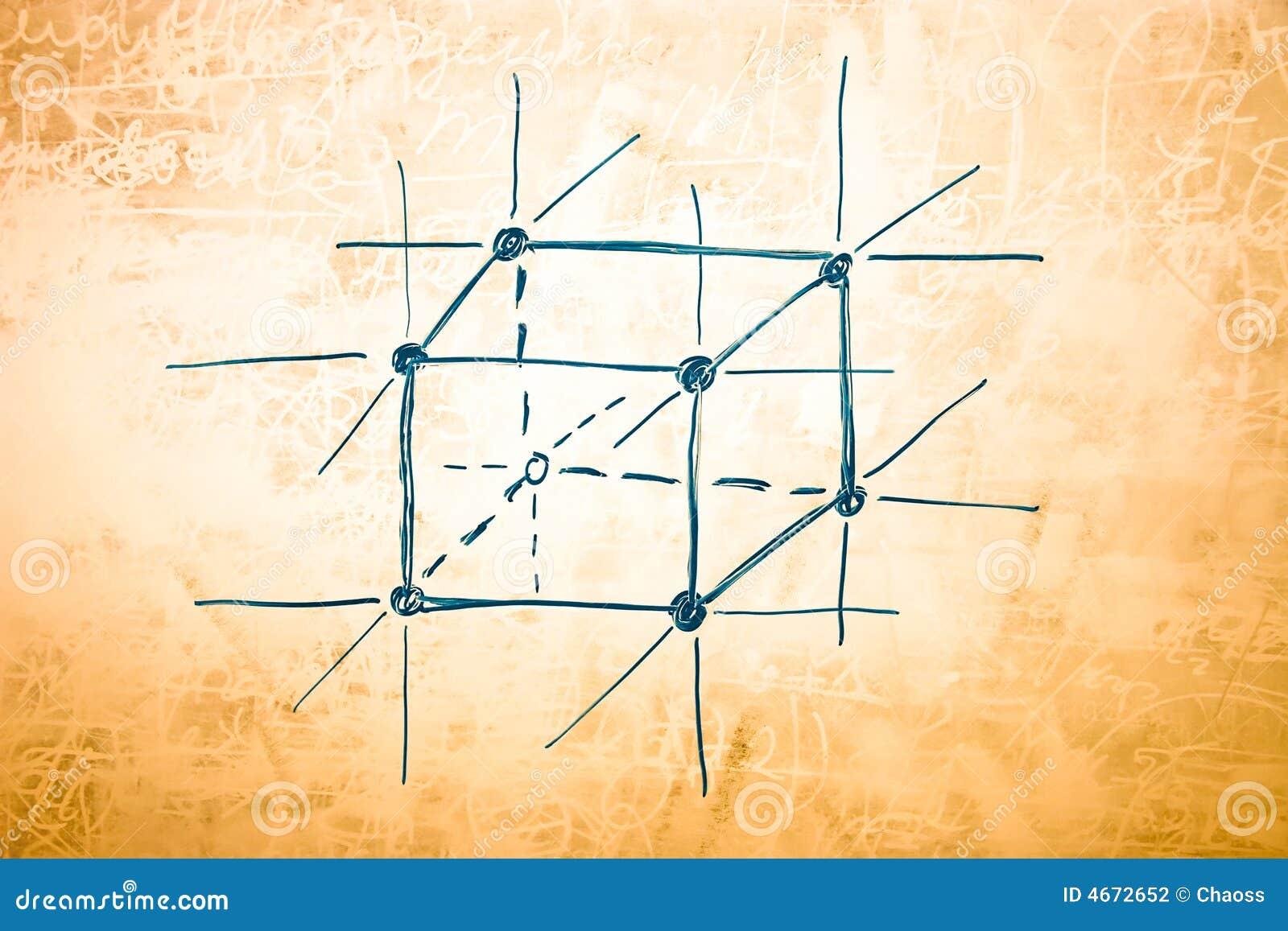 Estrutura Do Metal Na Física Atômica Foto De Stock Imagem