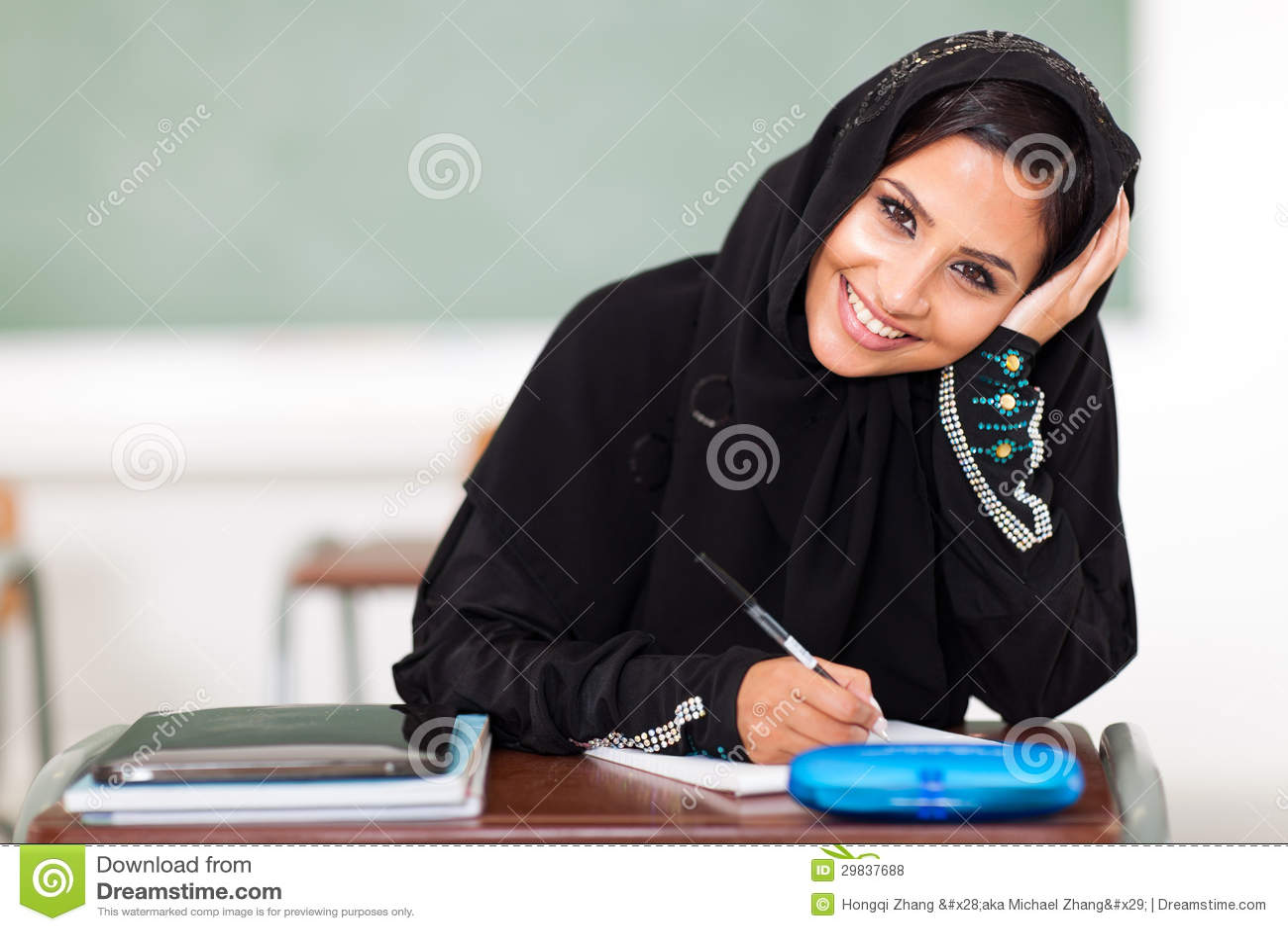 Estudante do Oriente Médio