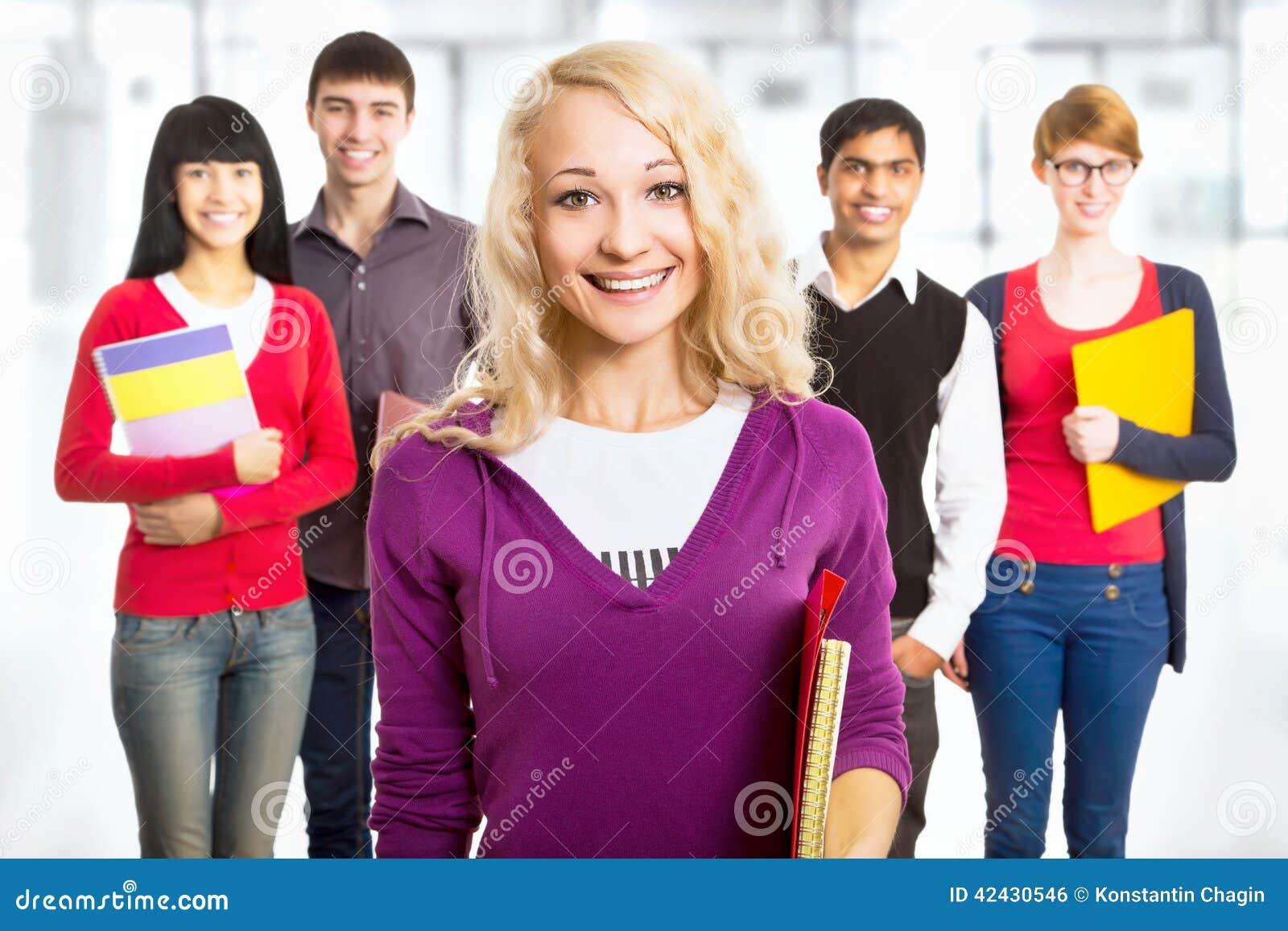 Estudiante bonita