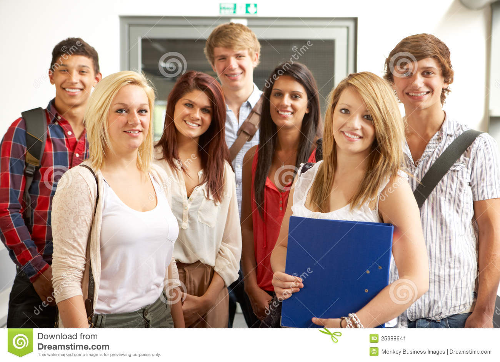 Estudiantes en universidad