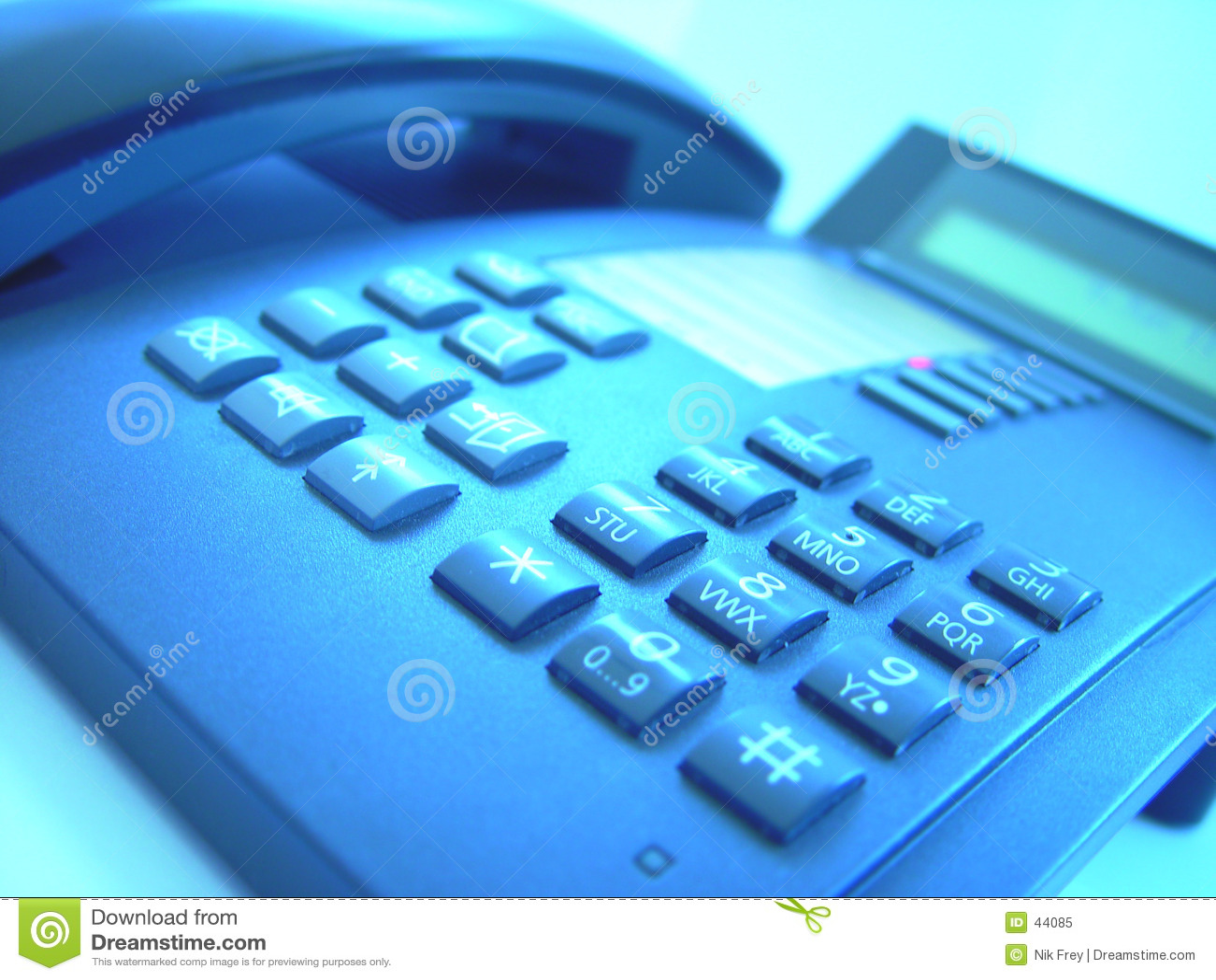 Estudio 4 del teléfono