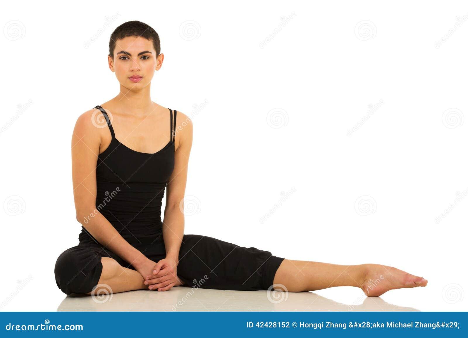 Estudio que se sienta del bailarín