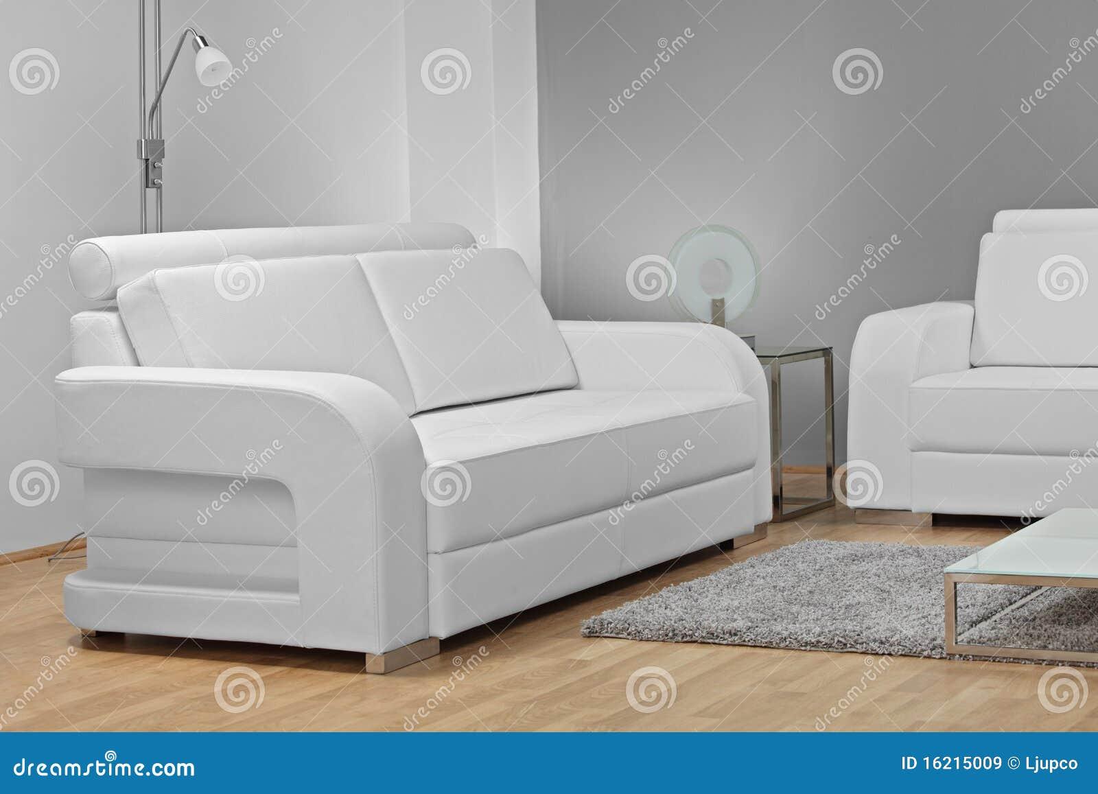 Estudio tirado de los muebles blancos imagen de archivo - Muebles coloniales blancos ...