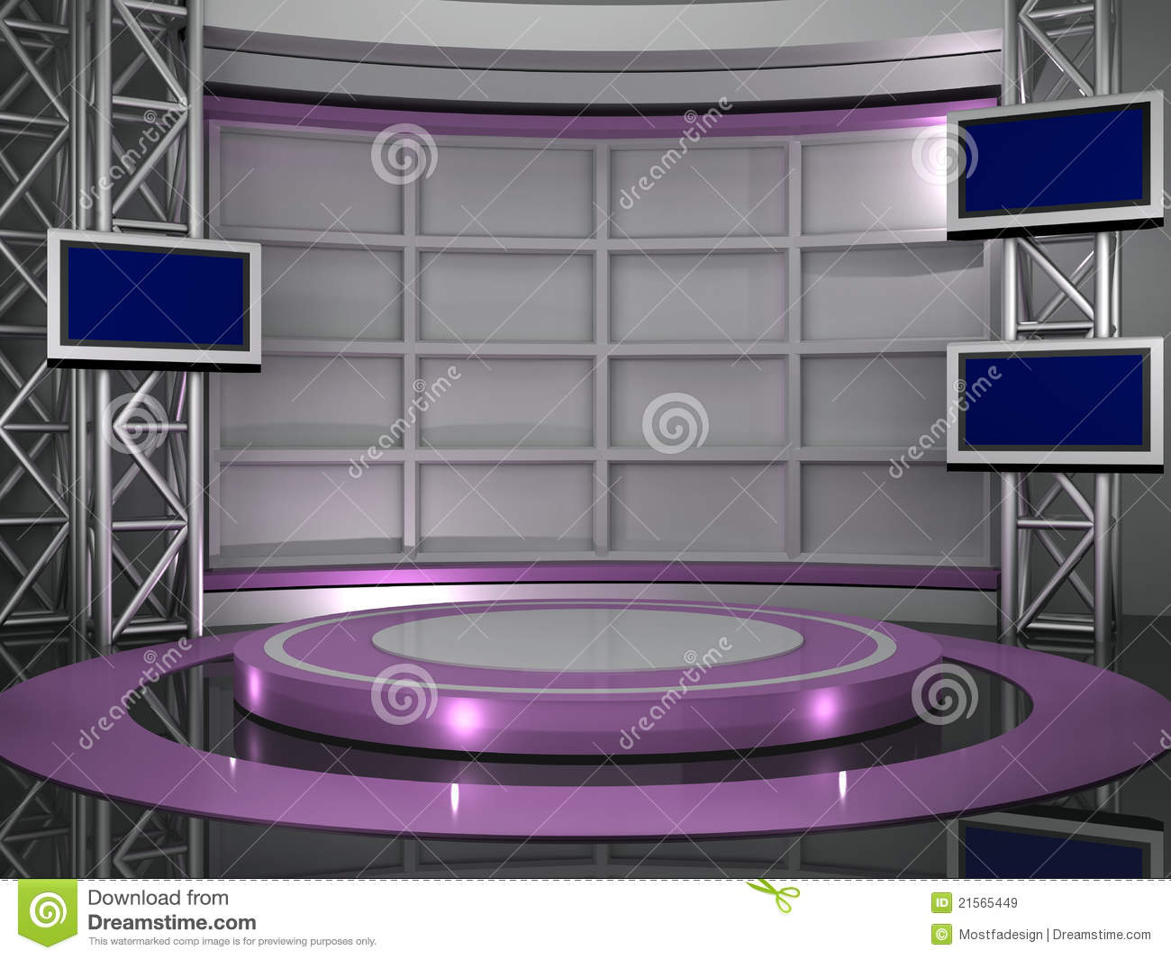 free virtual news studio background red HD1  YouTube