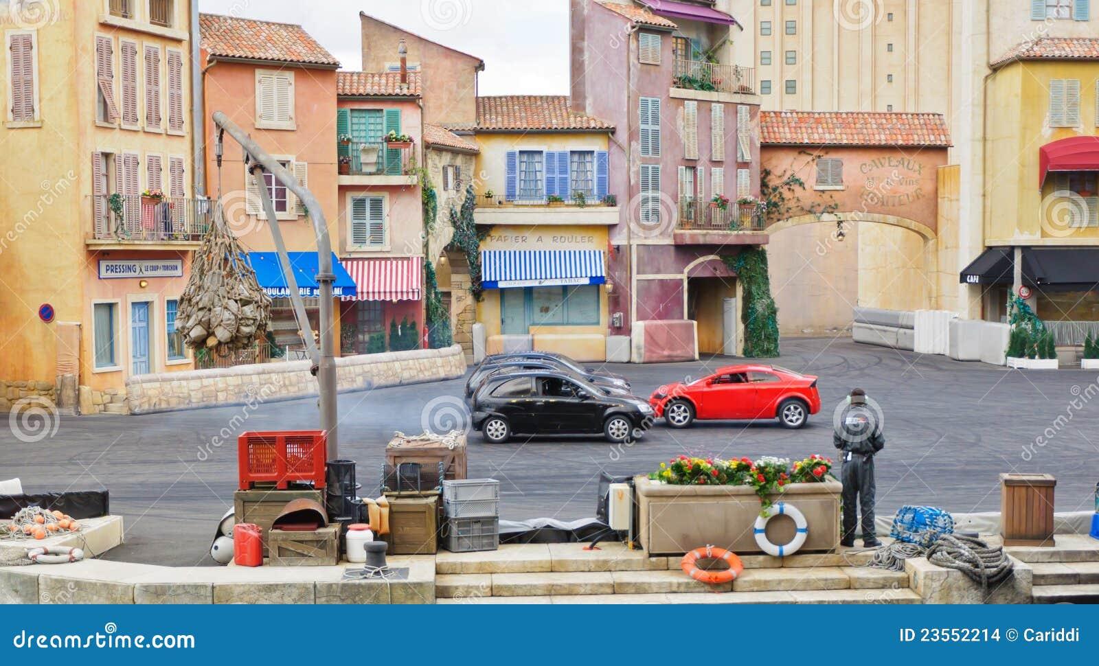 Estudios de París - de Disney, coches del truco
