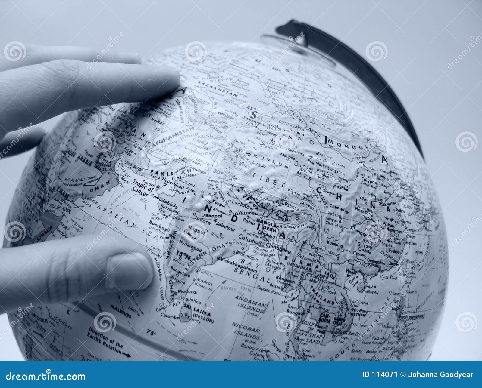 Estudo da terra: Ásia