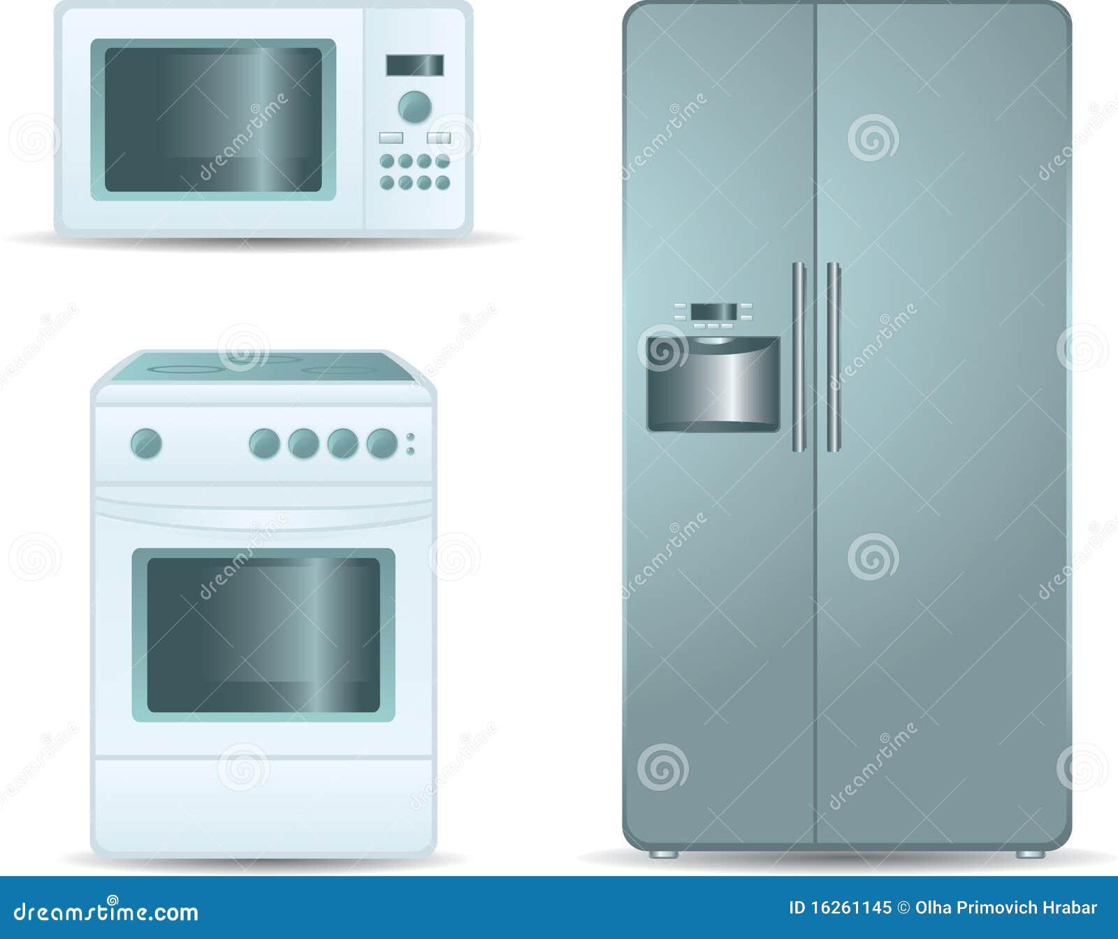 Estufa de cocinar horno microondas y refrigerador sid for Cocinar en microondas