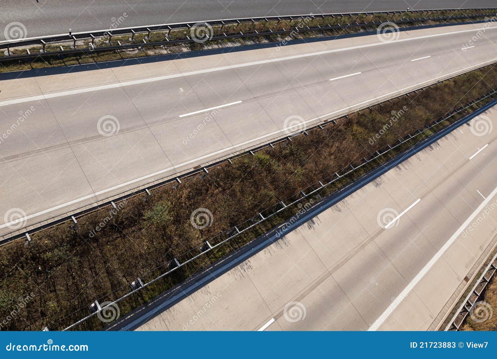 Esvazie a estrada
