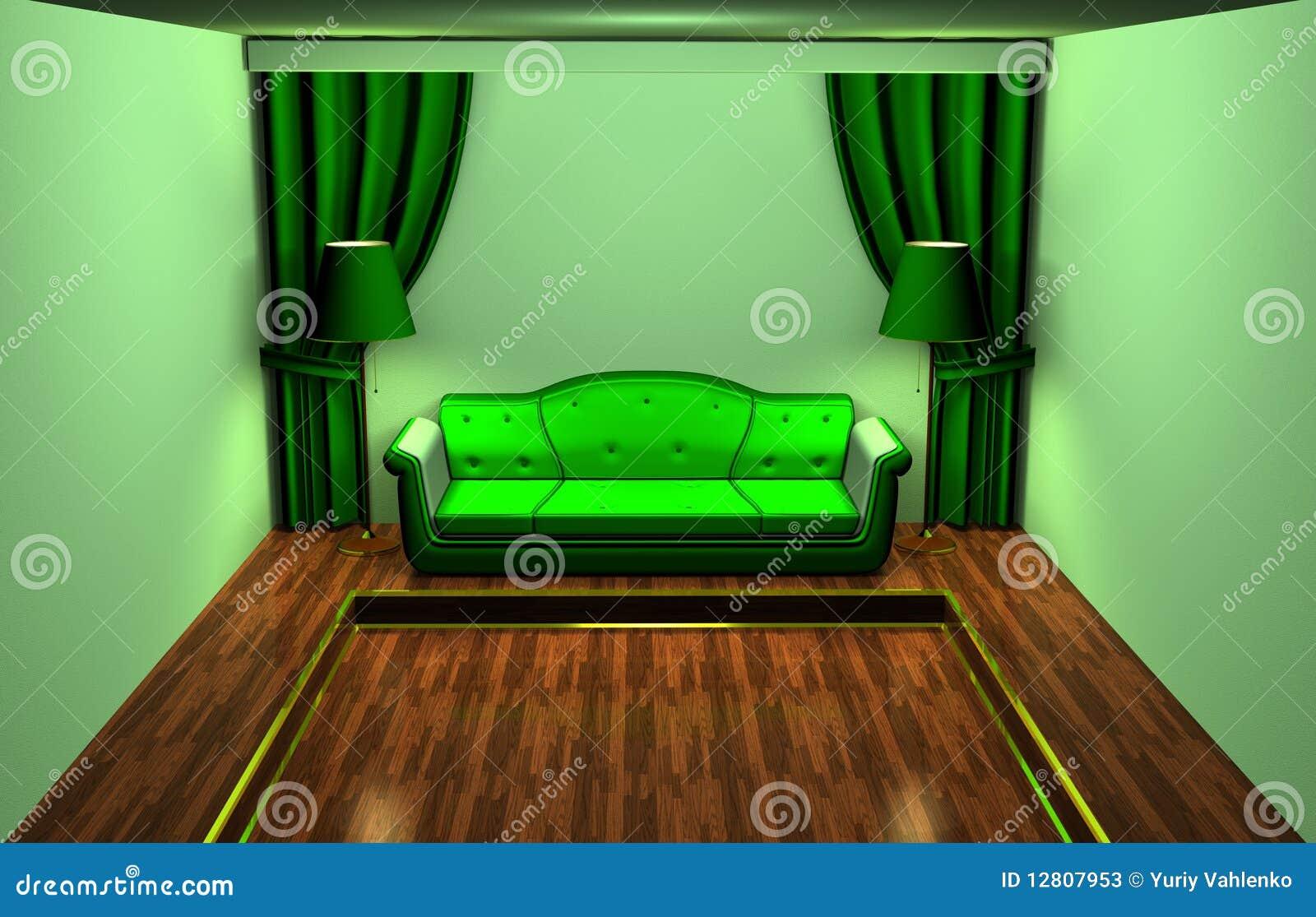 Esverdeie o quarto