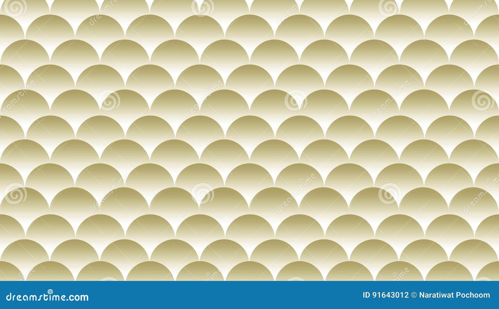 Or Et Fond Blanc De Texture Papier Peint Illustration Stock