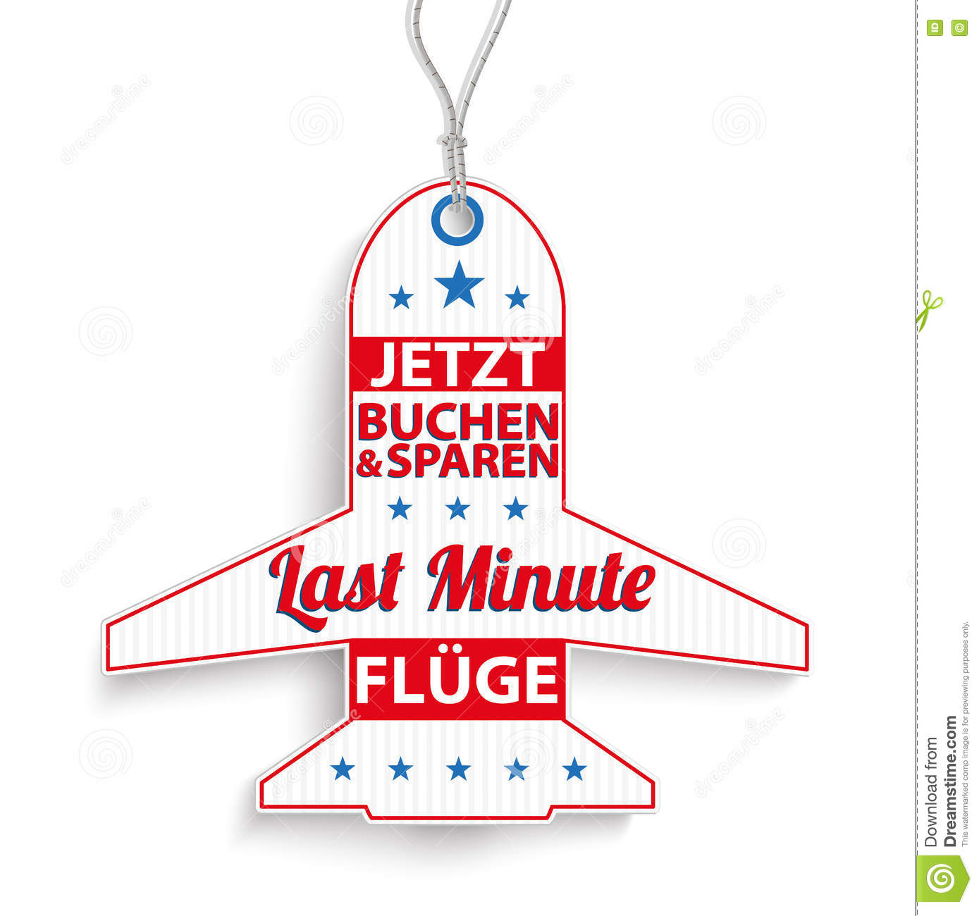 REDUCED // SALE PRICE Sticky Labels Tags Red German Stickers