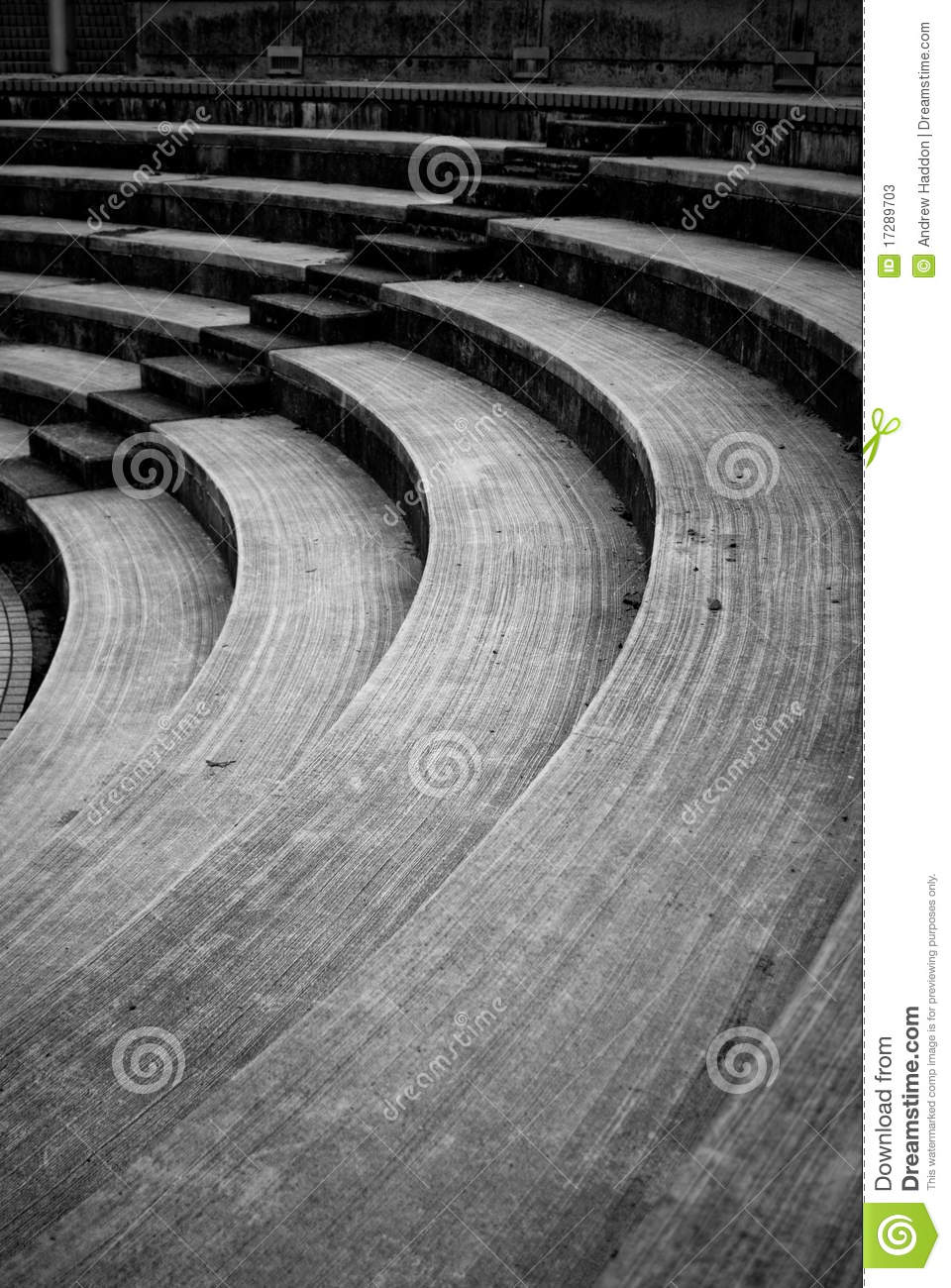 Etapas do Amphitheatre