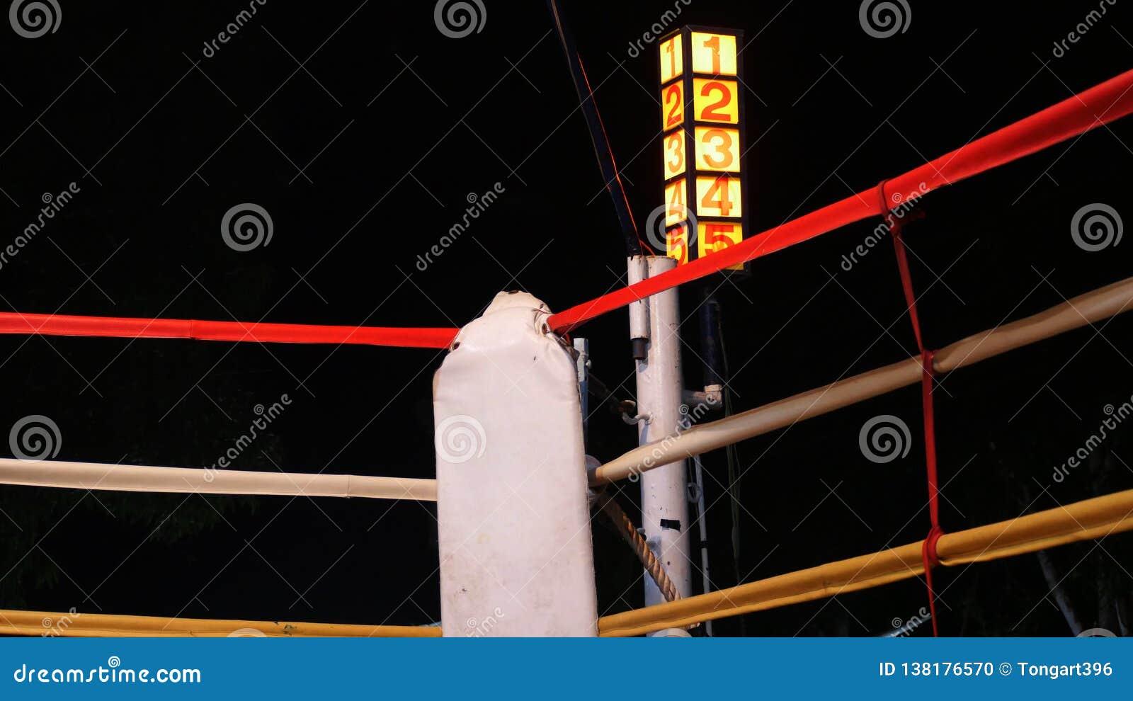 Etapp för boxare