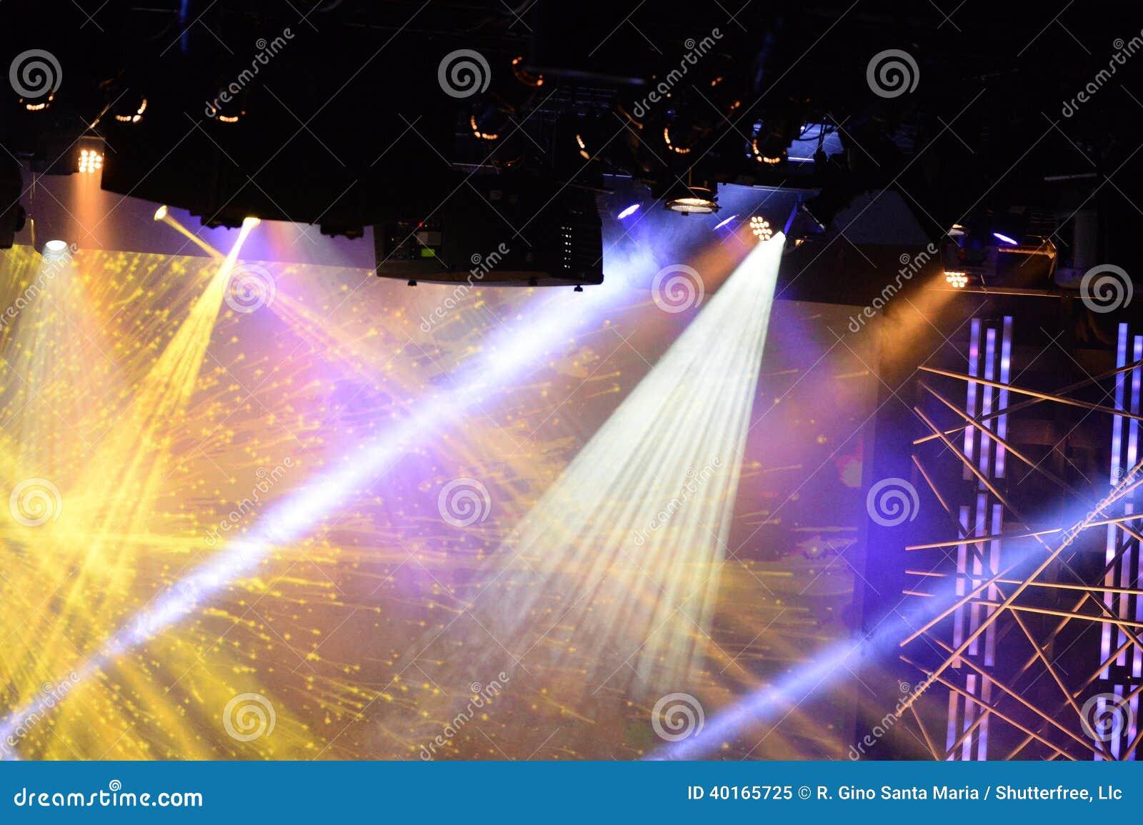 Etappljus under konsert