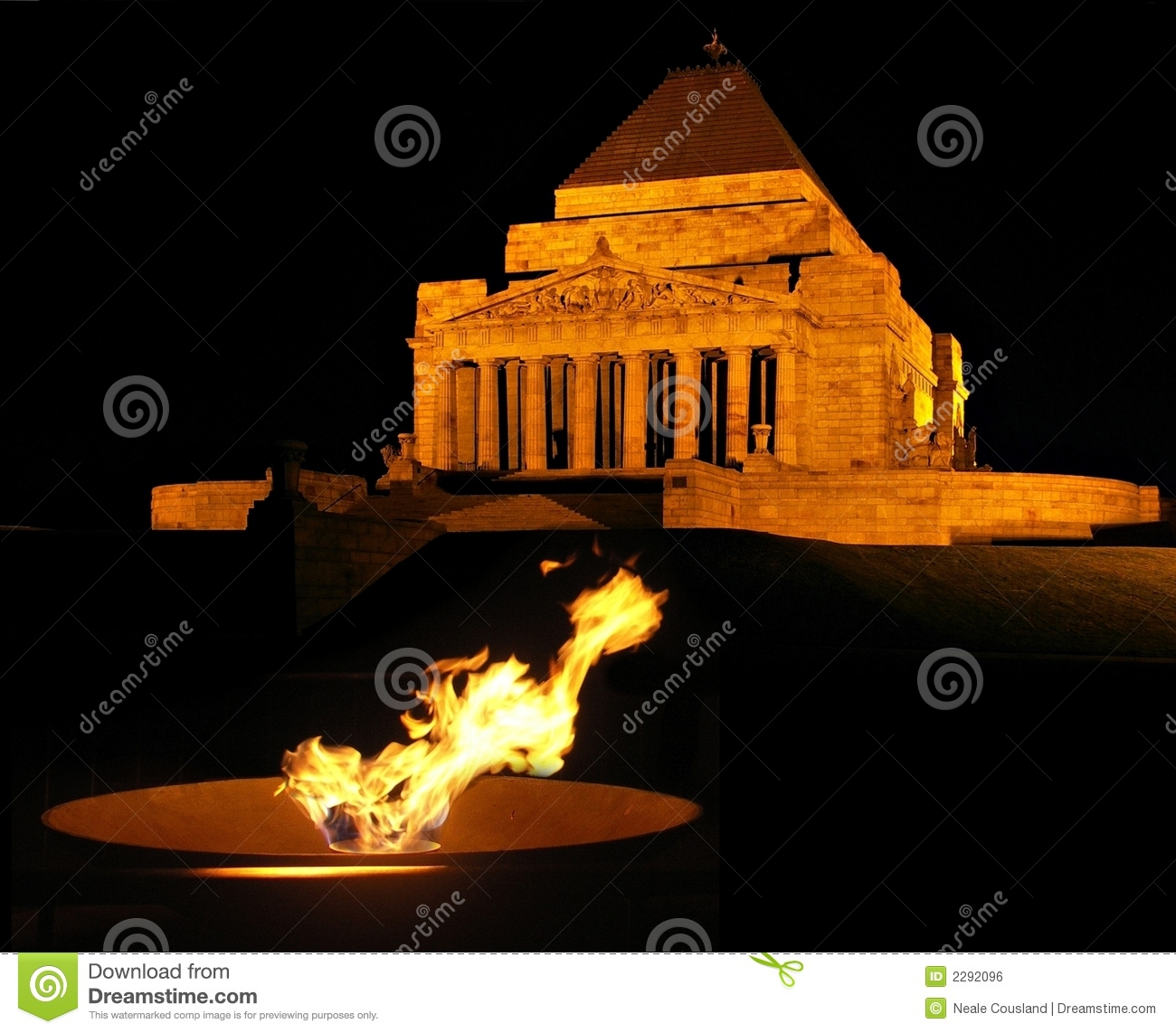 Eternal Flame at the Shrine