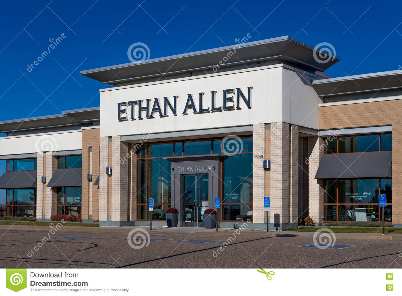 Ethan Allen Furniture Store Editorial Image Image Of Designer