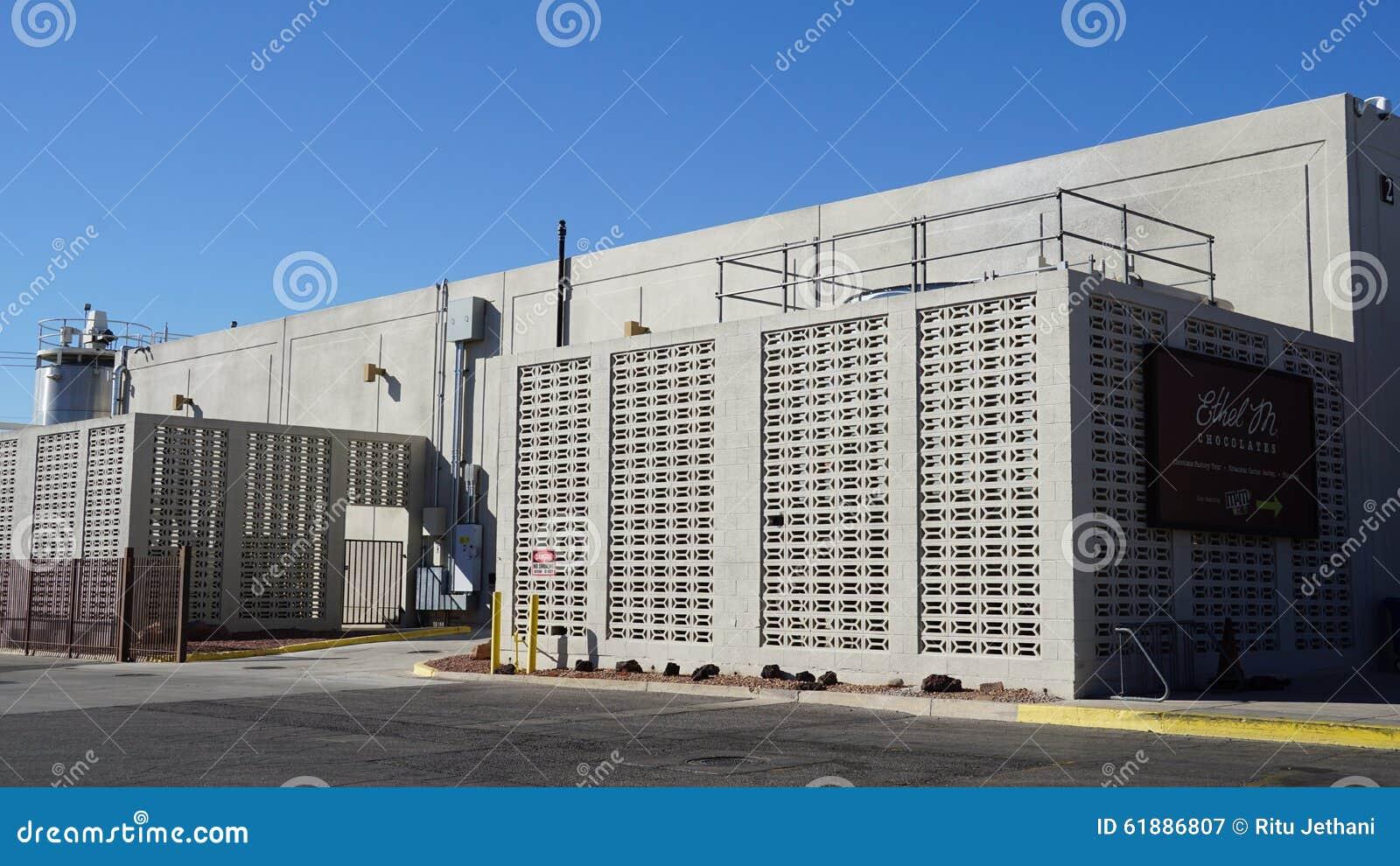 Ethel M Chocolate Factory Building Stock Photo - Image: 61886807