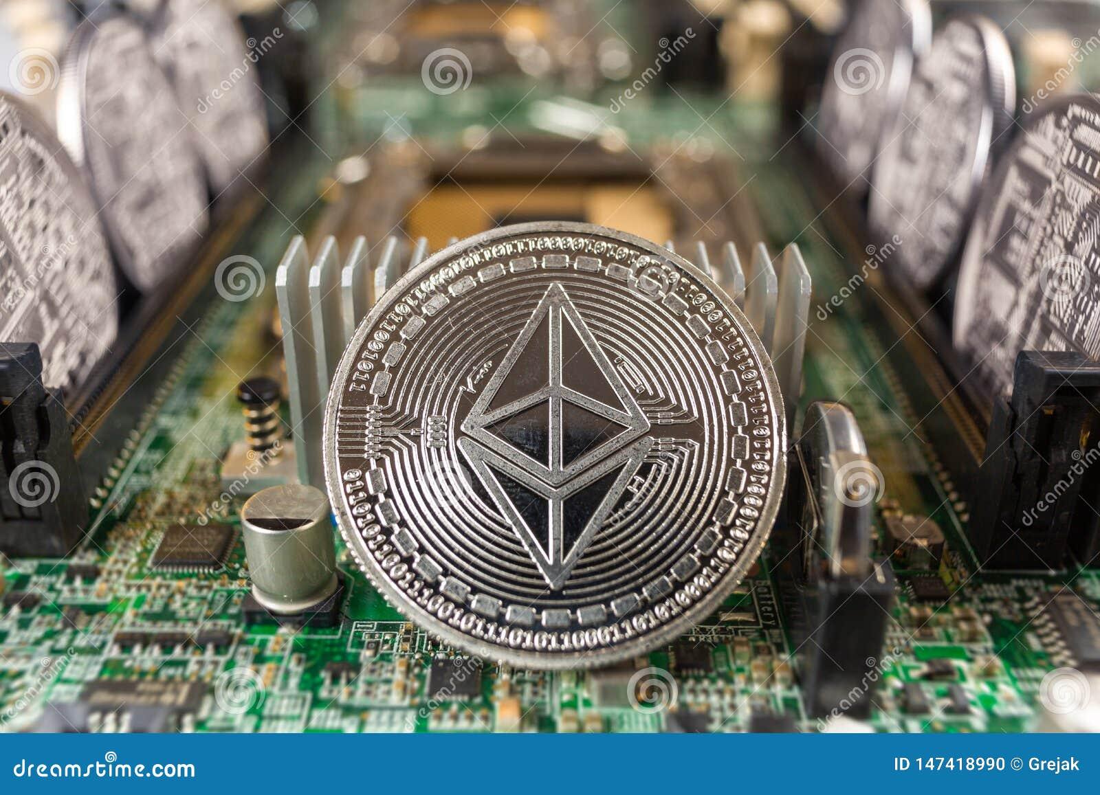 Ethereum moneta na technologia obwodzie