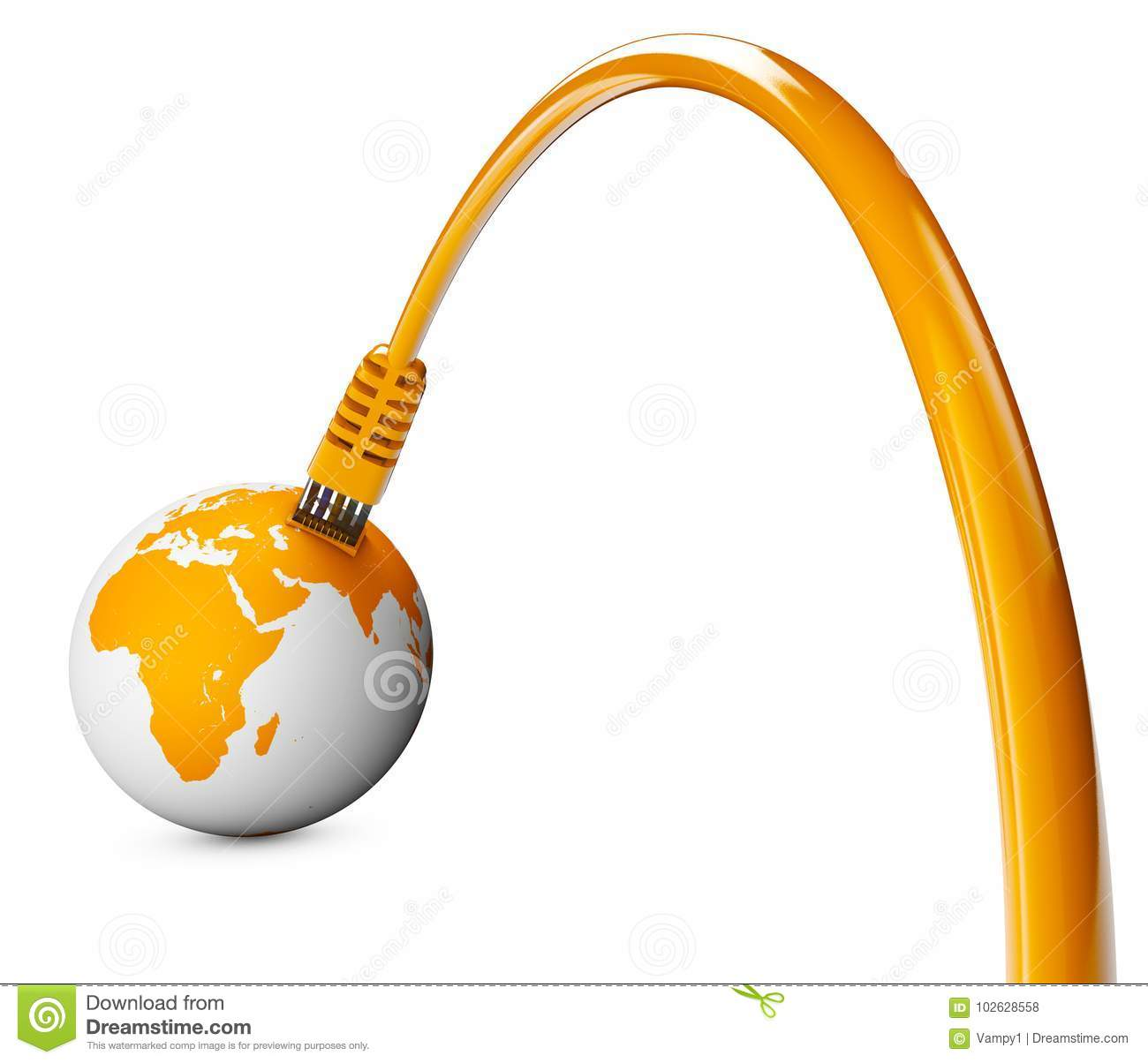 Ethernet Cable, Internet Connection, Bandwidth. The World ...
