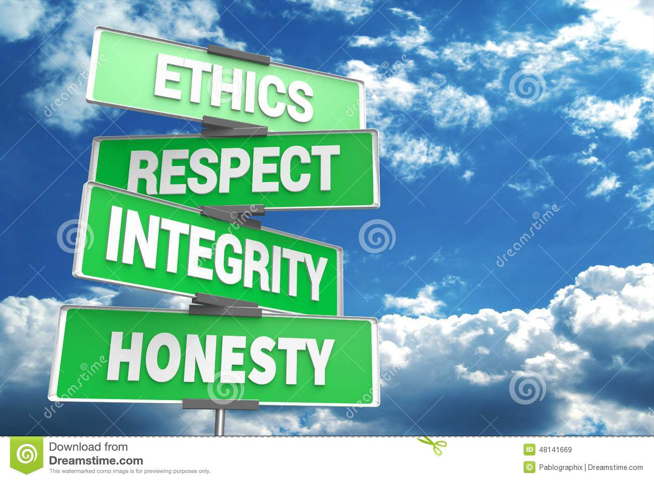 integrity and honesty in people in the united states Leadership ethics online honesty and integrity have seen for many decades–there are many leaders in the united states who are neither psychologically.