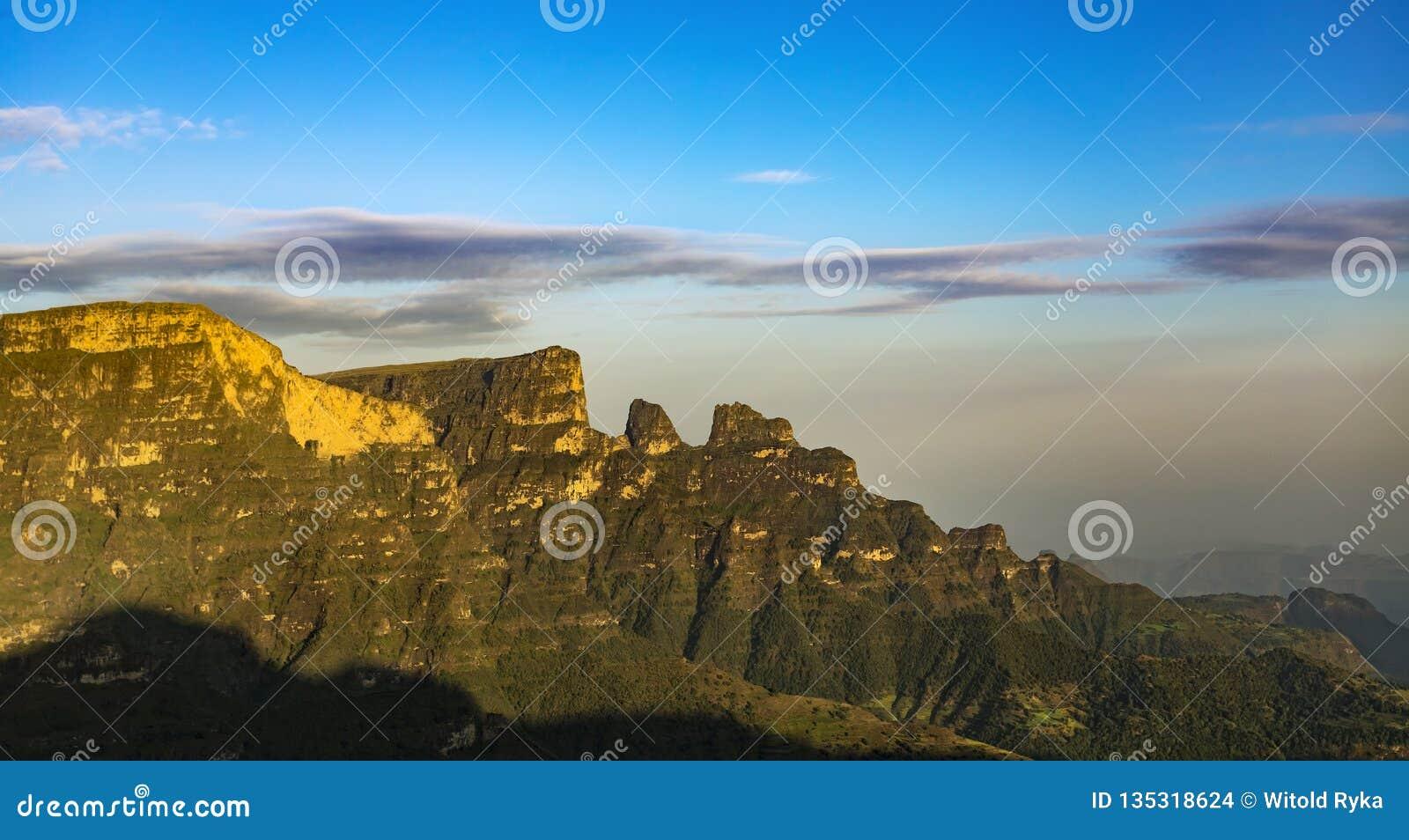 Ethiopia berg simien