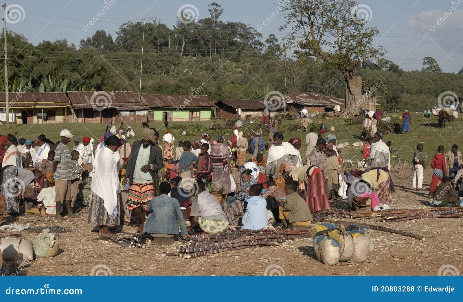 Ethiopian marknad 3