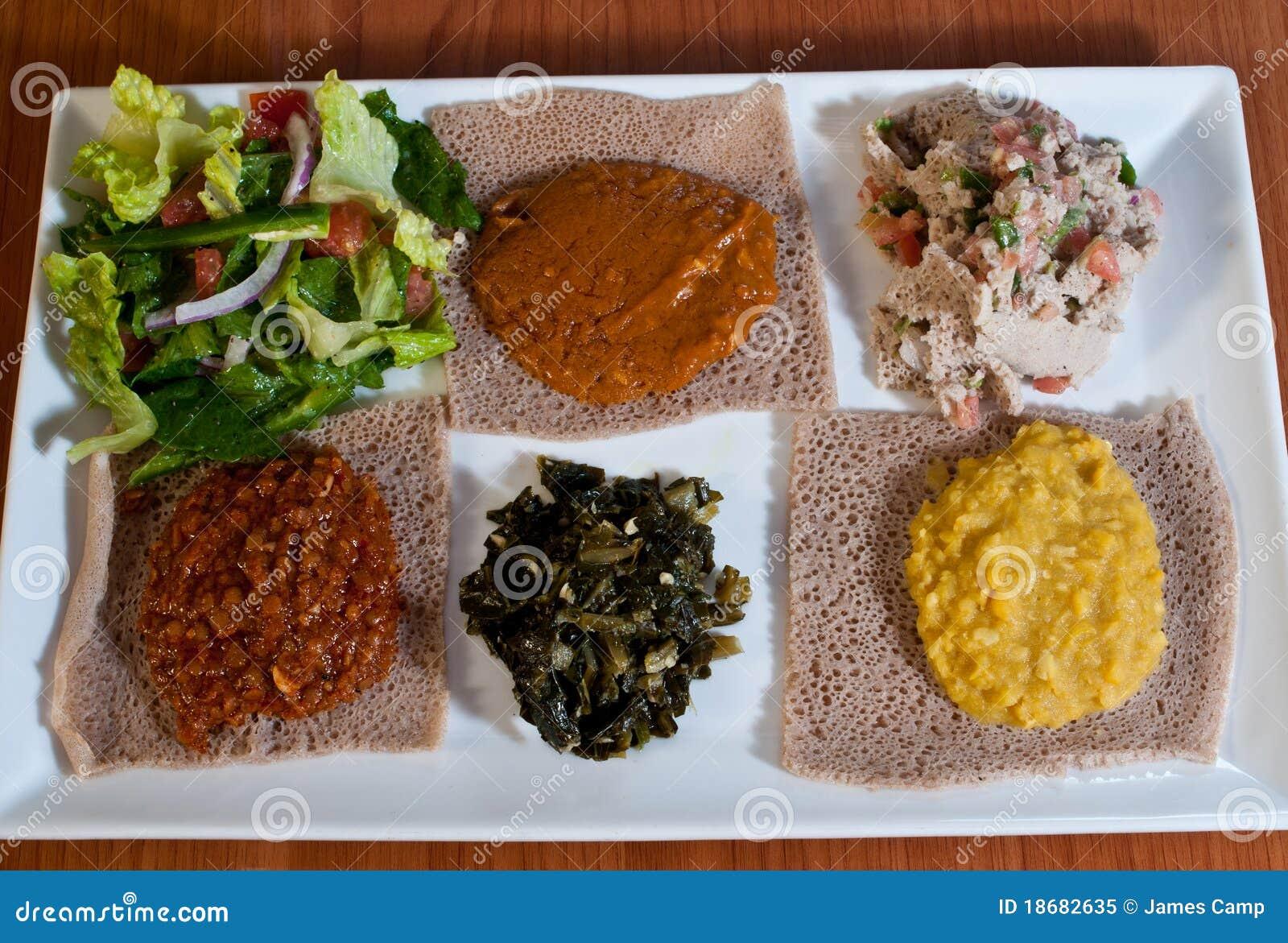 Ethiopian sampler plate