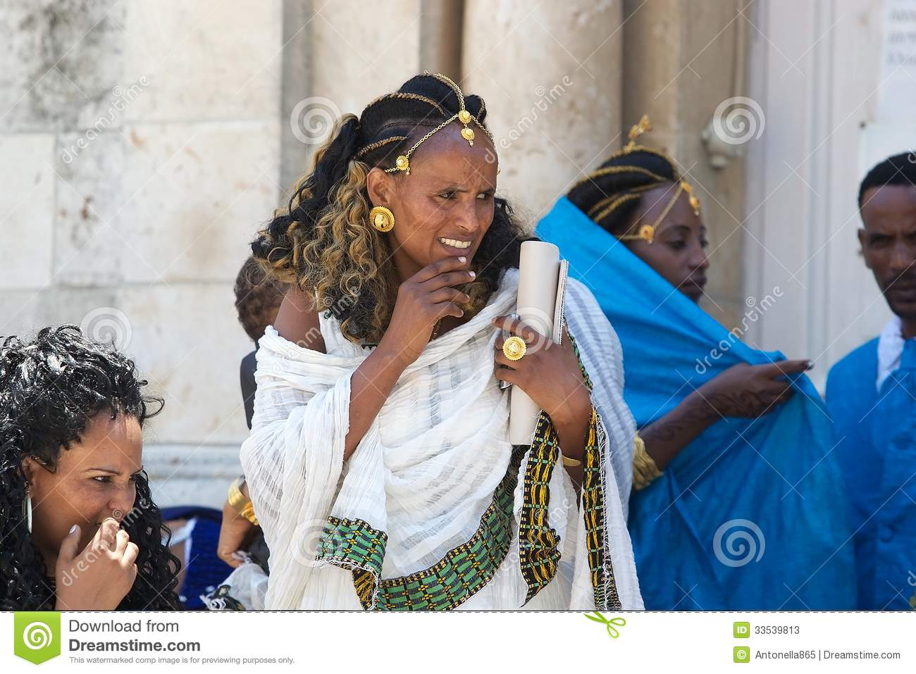 Ethiopian woman editorial stock photo. Image of asian - 33539813