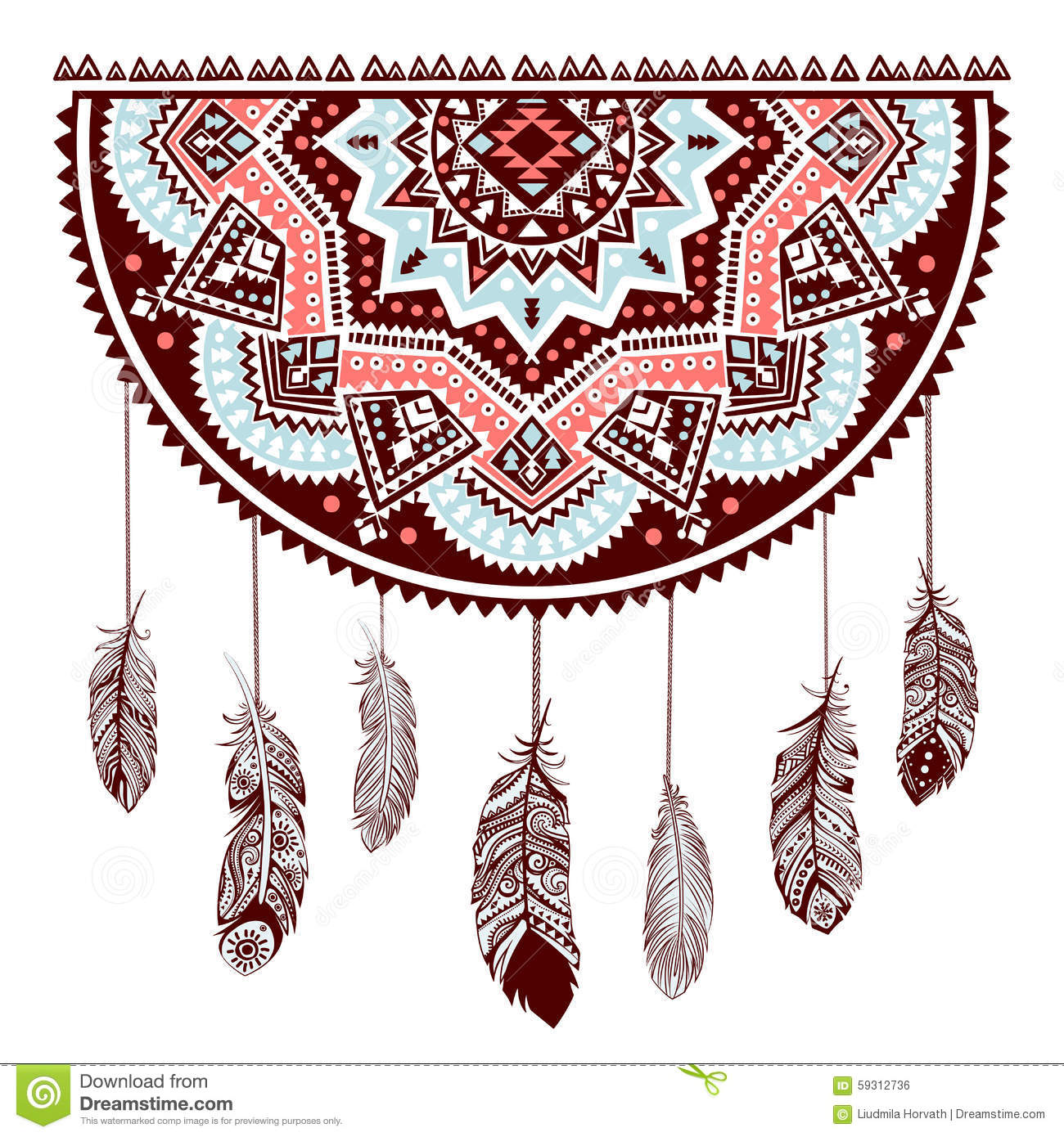 Ethnic american indian dream catcher stock vector illustration of download ethnic american indian dream catcher stock vector illustration of indian flight 59312736 m4hsunfo