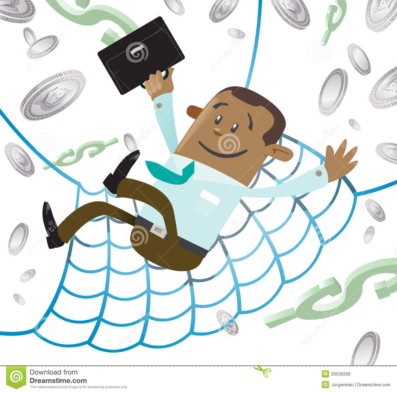 Ethnic Business Buddy Has A Financial Safety Net. Stock ...