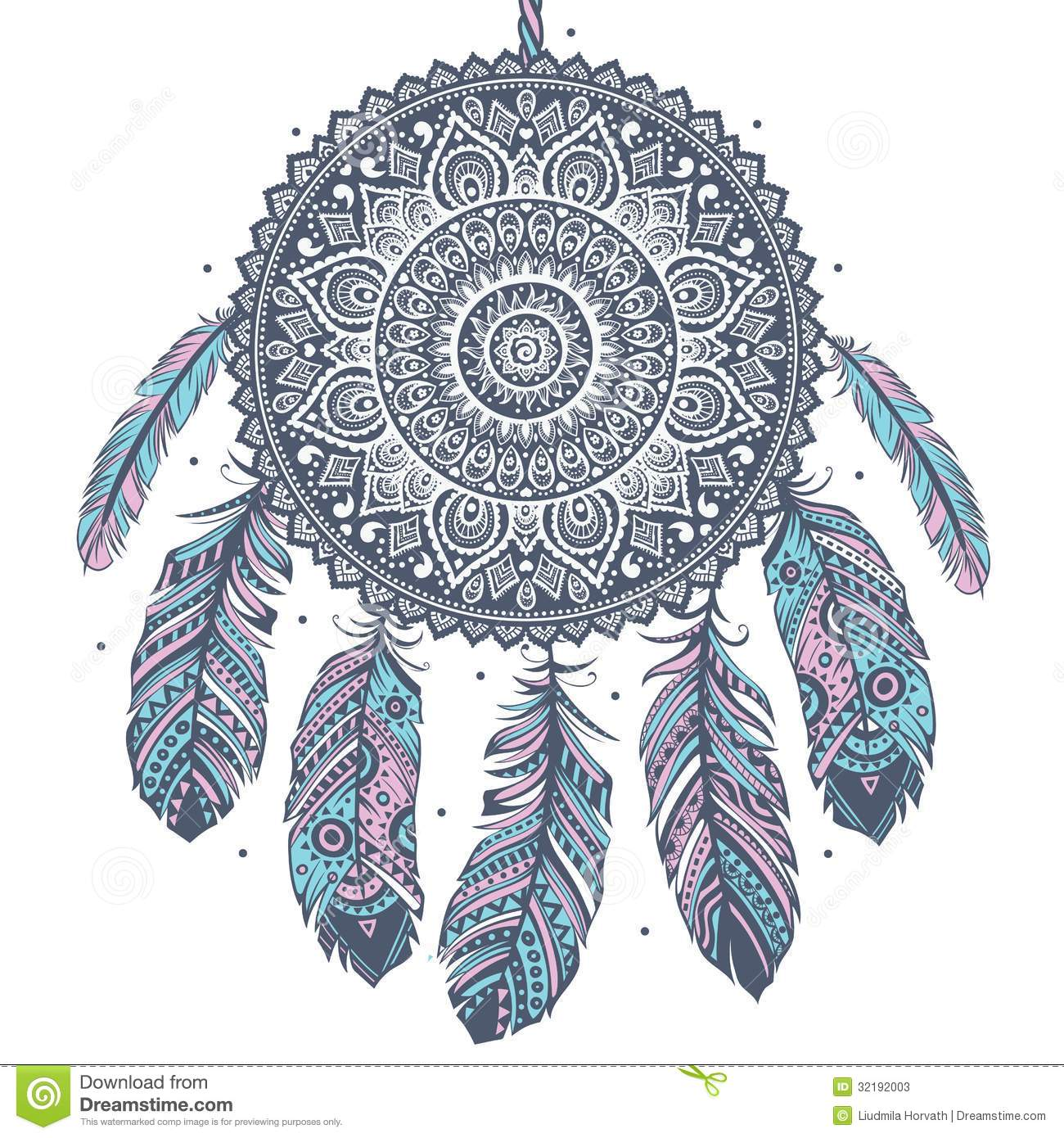 Ethnic Dream Catcher Stock Photos Image 32192003