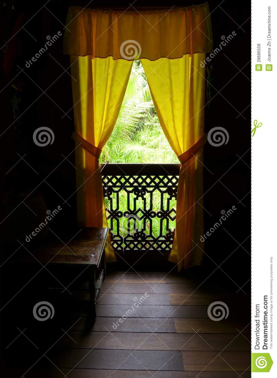 Ethnic Malay Antique House Interior Royalty Free Stock