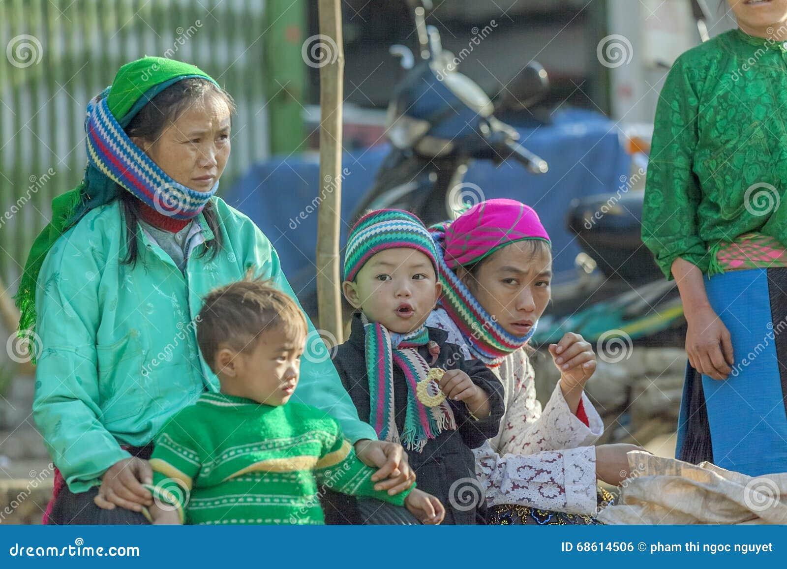 Ethnic Minority People Editorial Photo - Image: 68614506