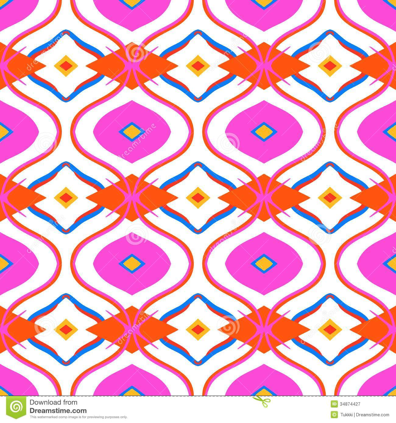 Ethnic pattern with arabic motifs royalty free stock photography image 34874427