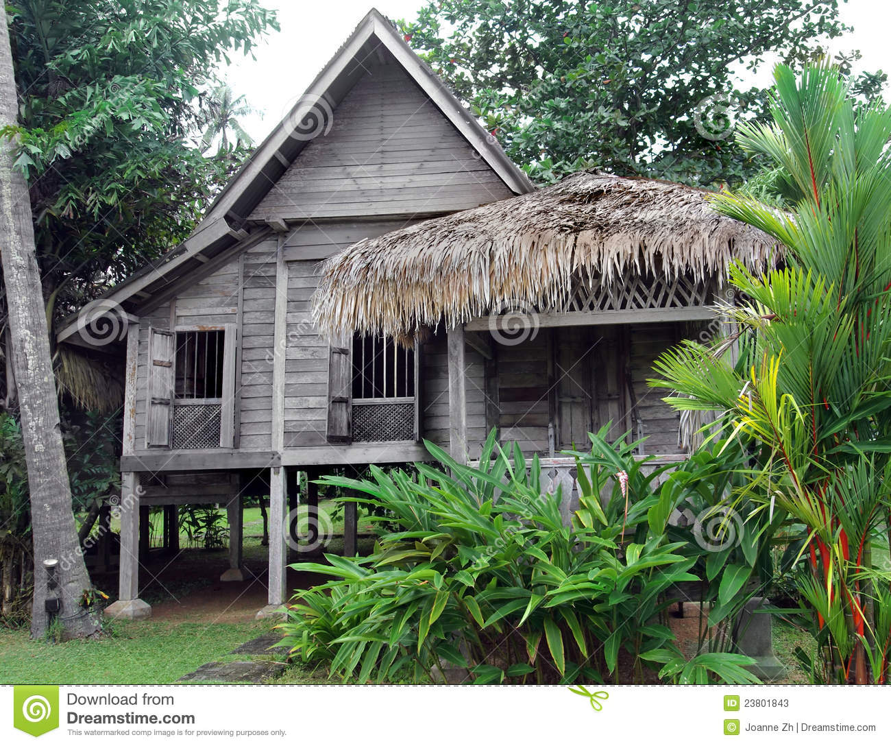 Ethnic Houses : Ethnic Rural Southeast Asian House On Stilts Stock Photos - Image ...