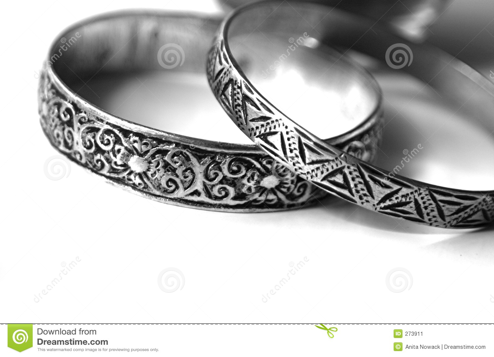 Ethnic Silver Bracelets