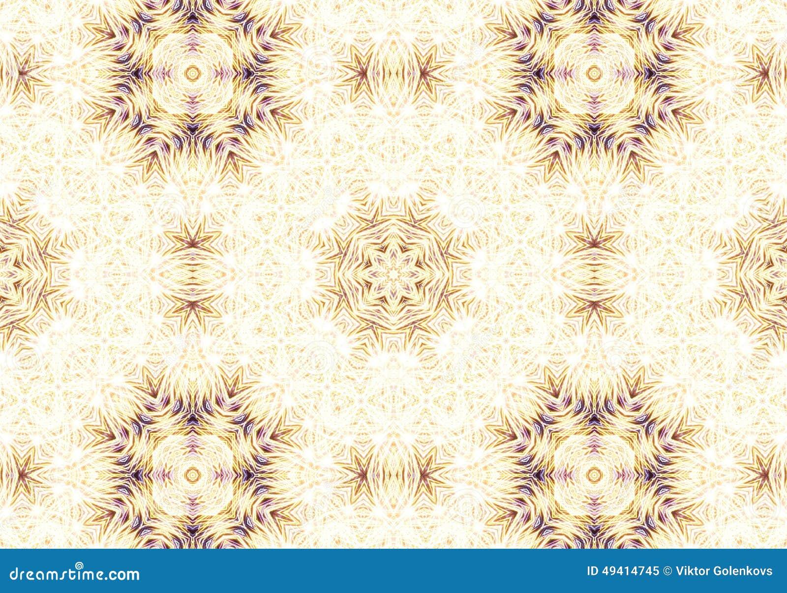 Download Ethnisches Muster Abstraktes Kaleidoskop Stockbild - Bild von impuls, kunst: 49414745