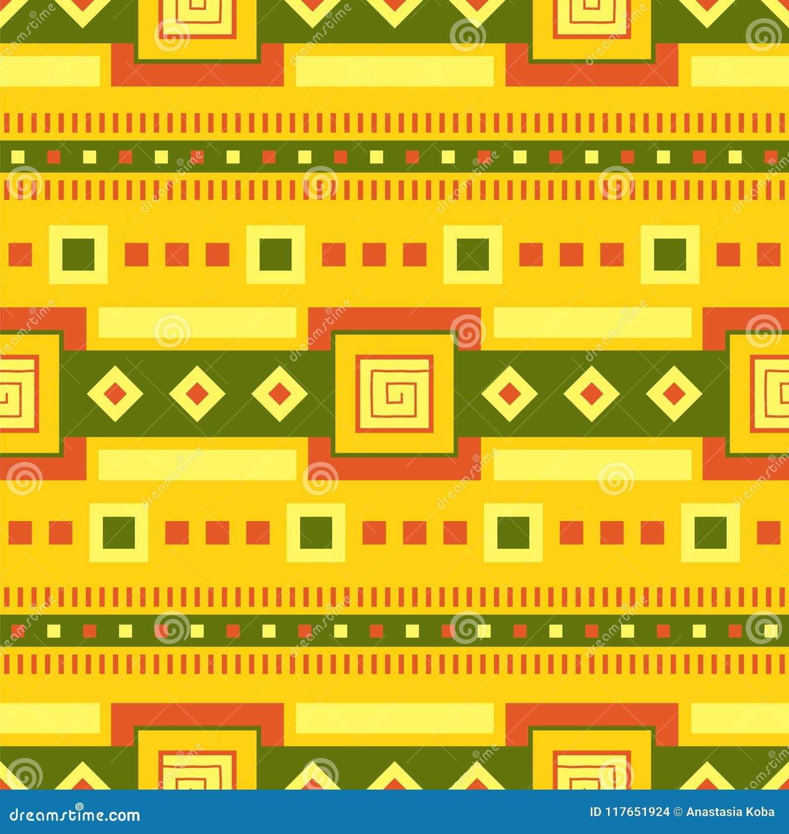 Ethnisches Muster Stammes- Kunst Afrikanisches Muster Es kann für Leistung der Planungsarbeit notwendig sein