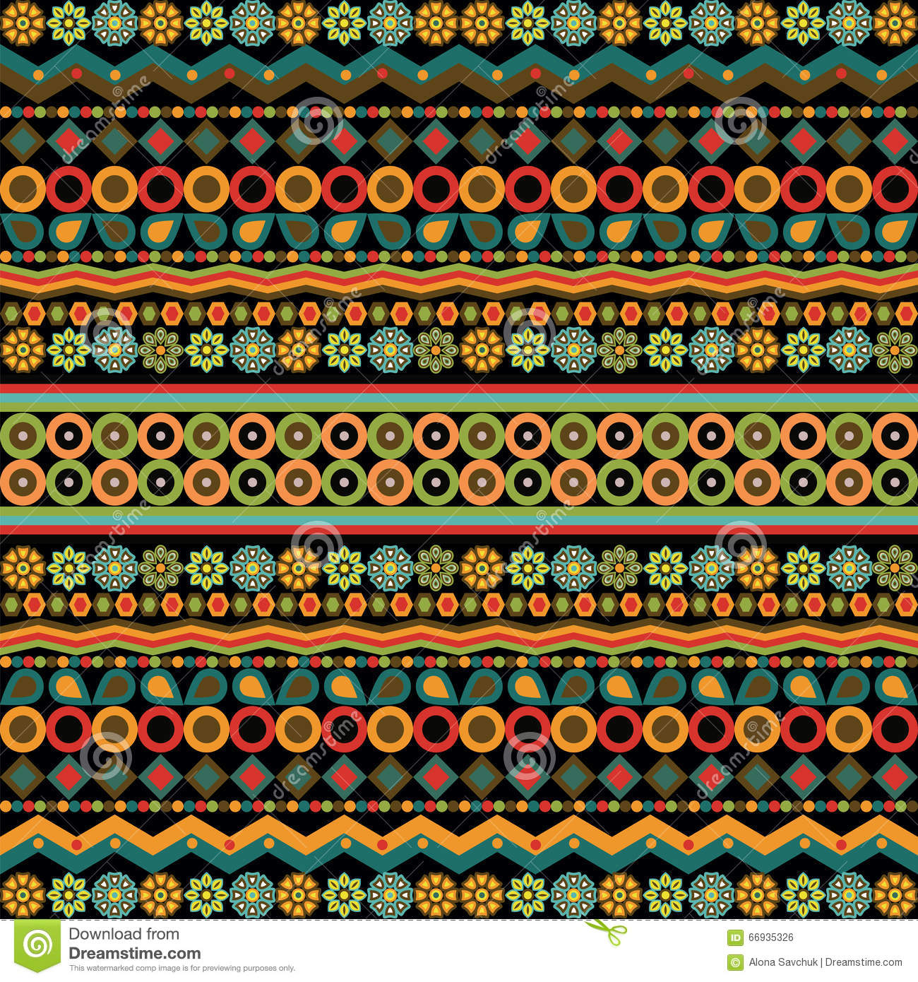 Ethno Pattern Posters And Prints Posterlounge Com