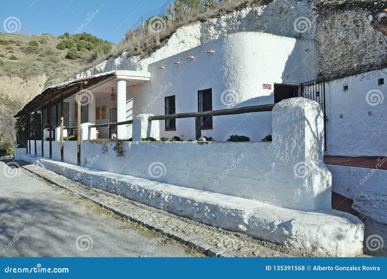 Museum Caves Sacromonte Of Granada Editorial Stock Photo