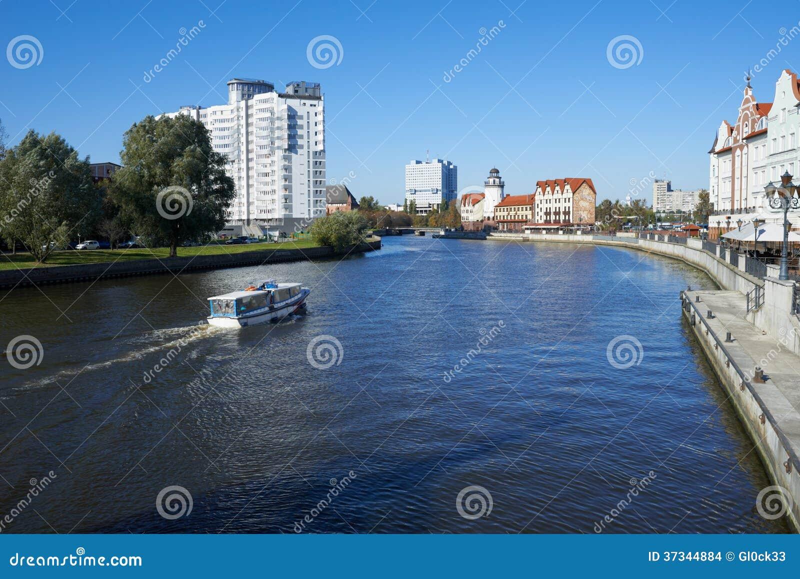Ethnographic och handelmitt. Kaliningrad
