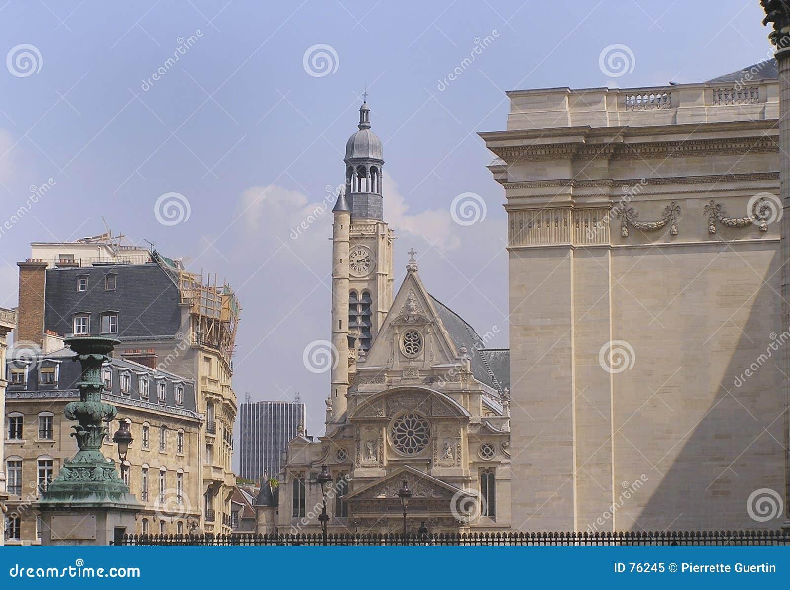 Etienne kościoła Paris ste