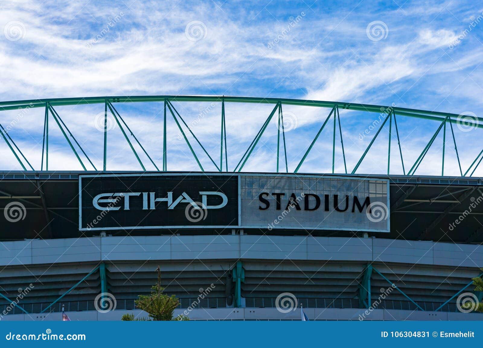 Etihad Stadium In Docklands, Melbourne Editorial Photo - Image of victoria,  travel: 106304831